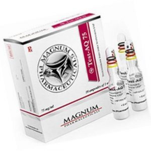 Buy Test-AQ 75 (Testosterone Suspension) at a low price in Britain
